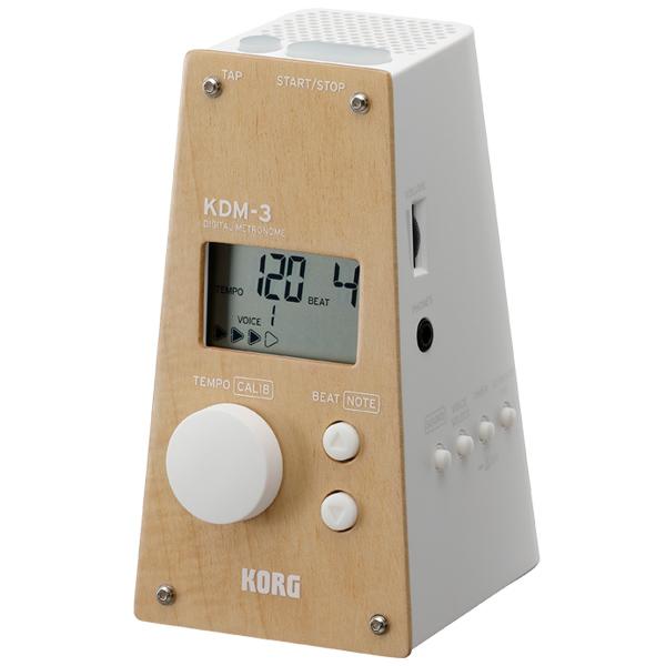 b5d7a66d08 ◇KORG KORG KDM-3-WDWH [DIGITAL METRONOME](Wooden White)【数量限定カラー】 【6月23日発売予定】  販売価格¥4750円(税抜) ショッピングページはこちら>>