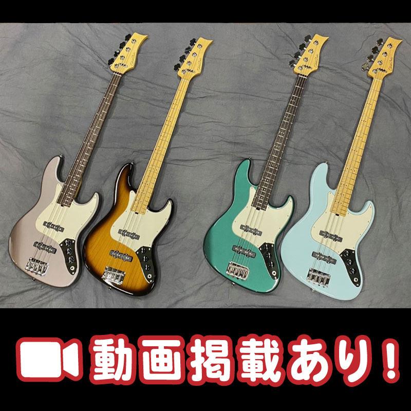 【Three Dots Guitars】ギターで高い評価を得ている当ブランドから、ベースが遂に登場!