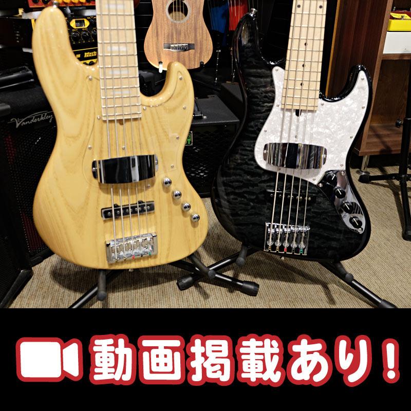 【Bacchus】HJB5-STANDARD VS HJB5-MODERN!イケベオリジナルモデルの5弦対決!